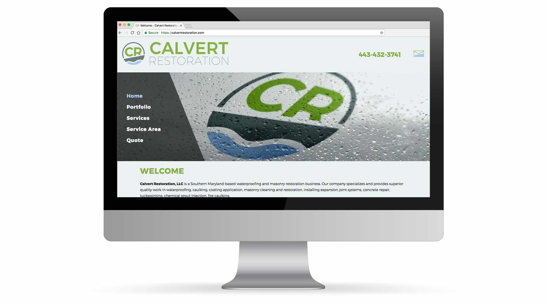 Calvert Restoration Website