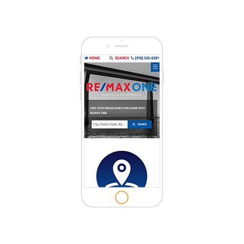 REMAX One Responsive Website-Portfolio