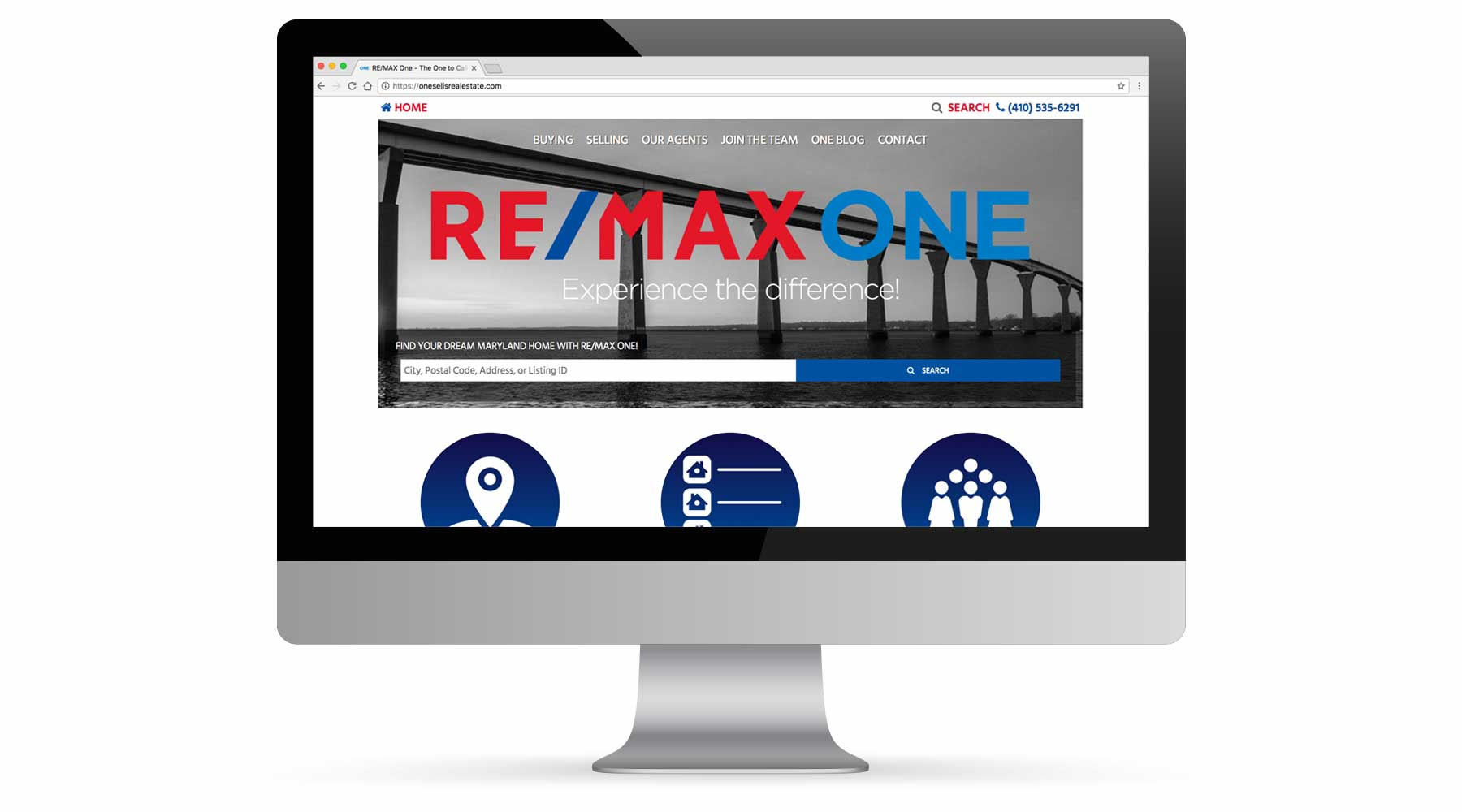 RE/MAX One Website Portfolio