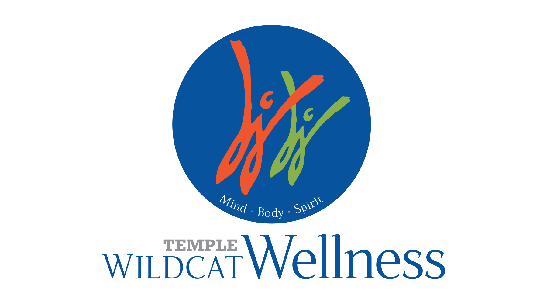 Temple Wildcat Wellness Logo
