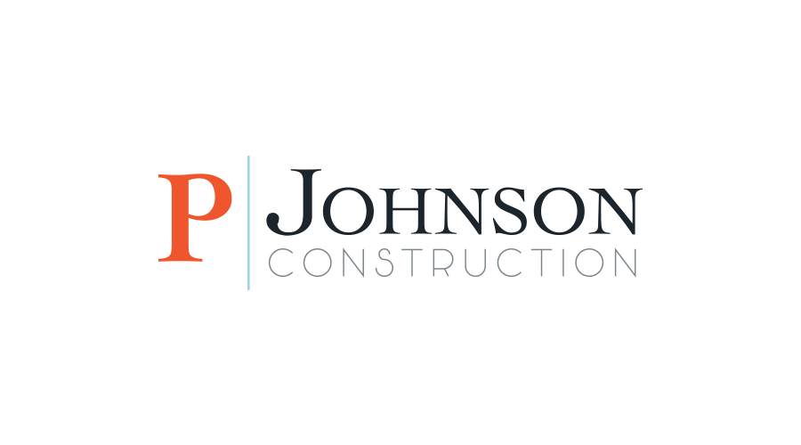 P Johnson Construction Branding Mark-2