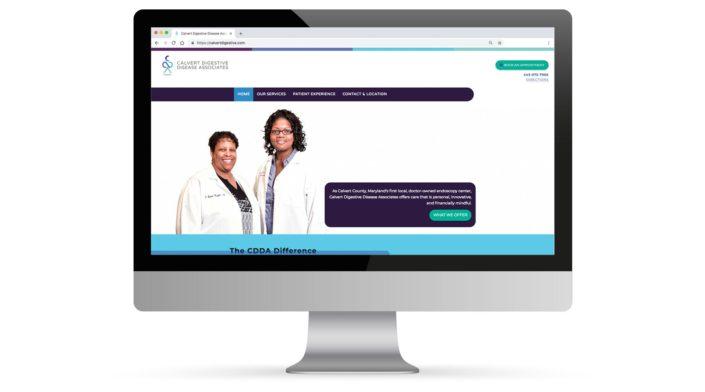 Calvert Digestive Disease Associates Website Portfolio